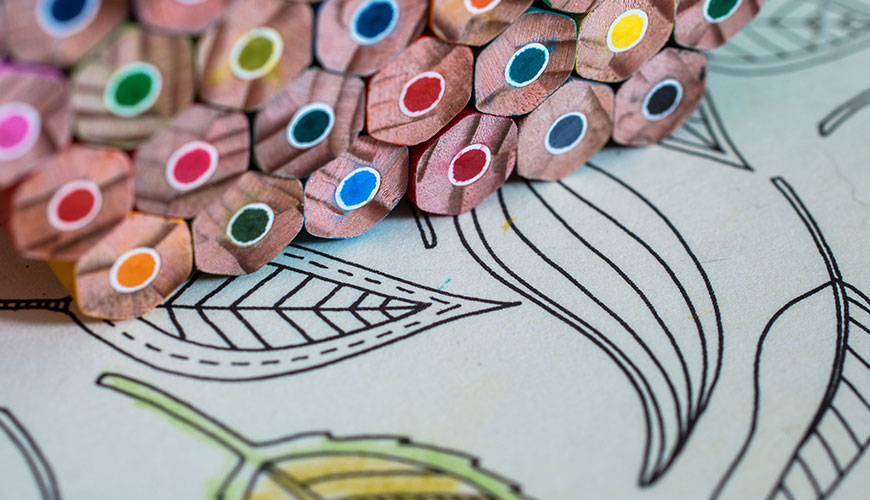 Adult Coloring @ Your Library