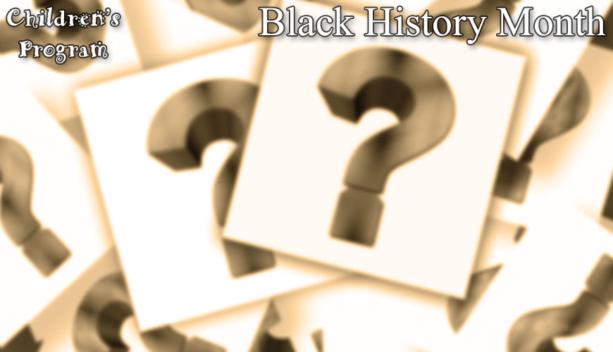 Weekly trivia questions for Black History Month